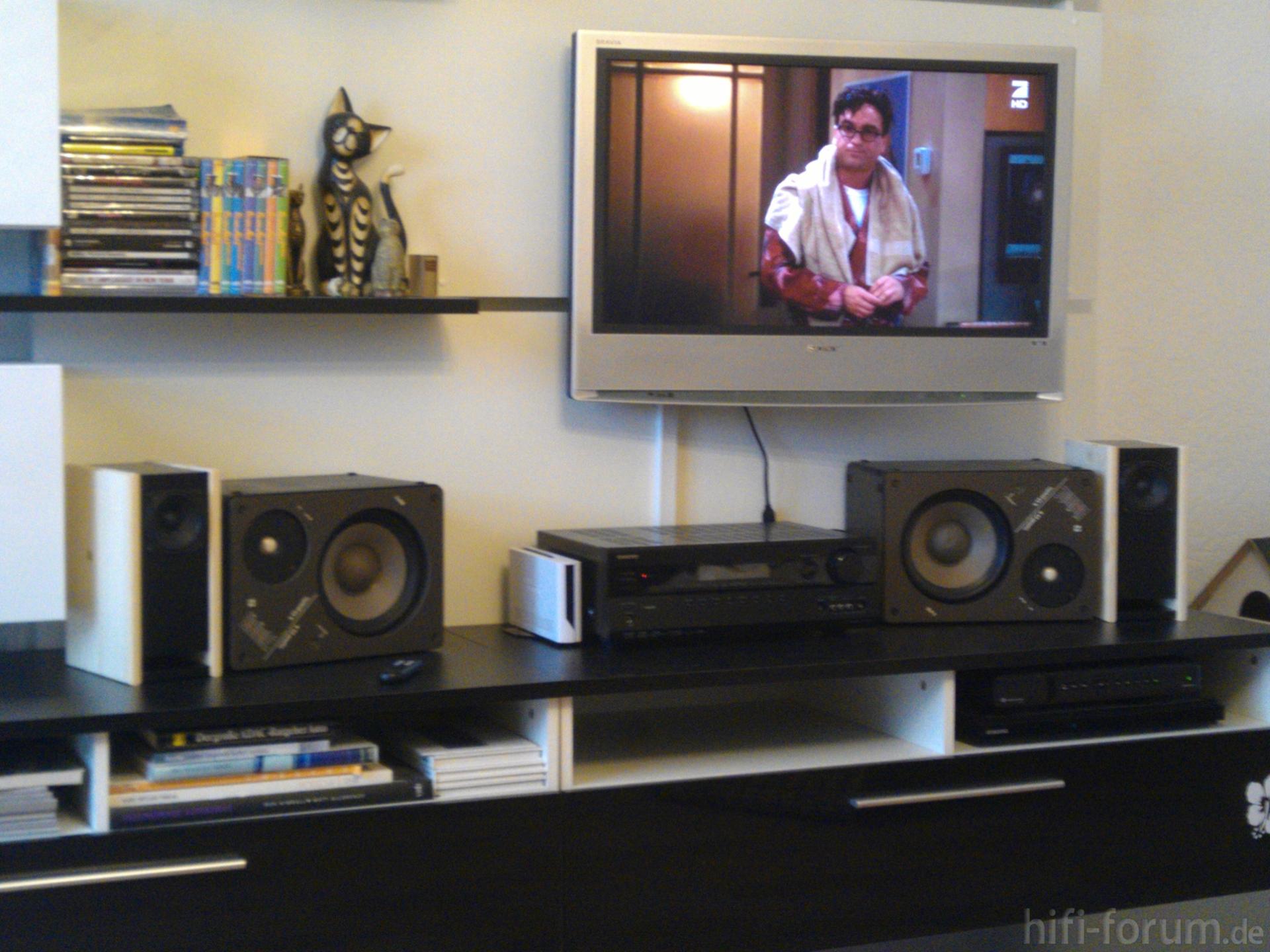 tv wand tv tvwand wand hififorumde bildergalerie. Black Bedroom Furniture Sets. Home Design Ideas