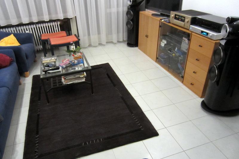 Teppichlautsprecher, stereo, teppich  hififorumde