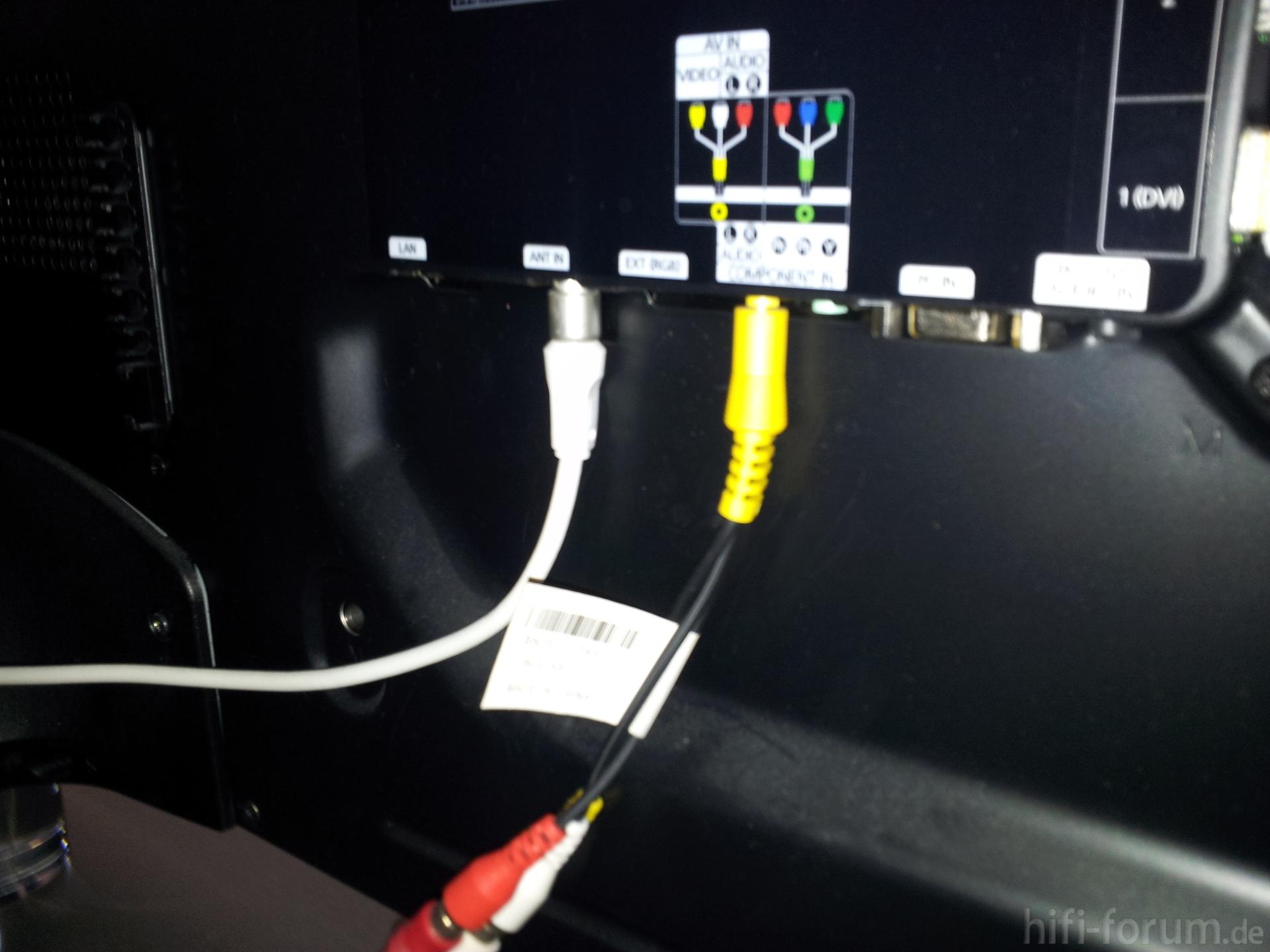 Samsung LED TV ohne Audio Ausgang, Anschluss & Verkabelung - HIFI-FORUM
