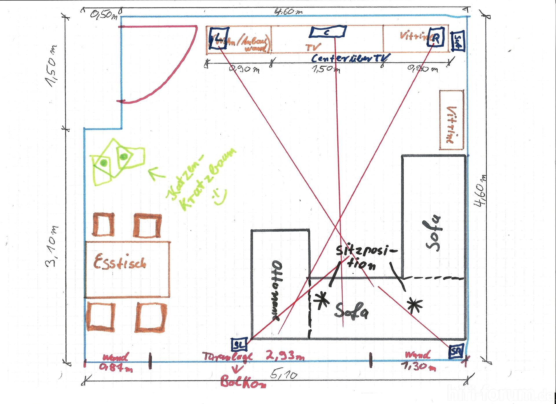 draufsicht wohnzimmer mit details | details, draufsicht, heimkino ... - Wohnzimmer Ideen Beamer