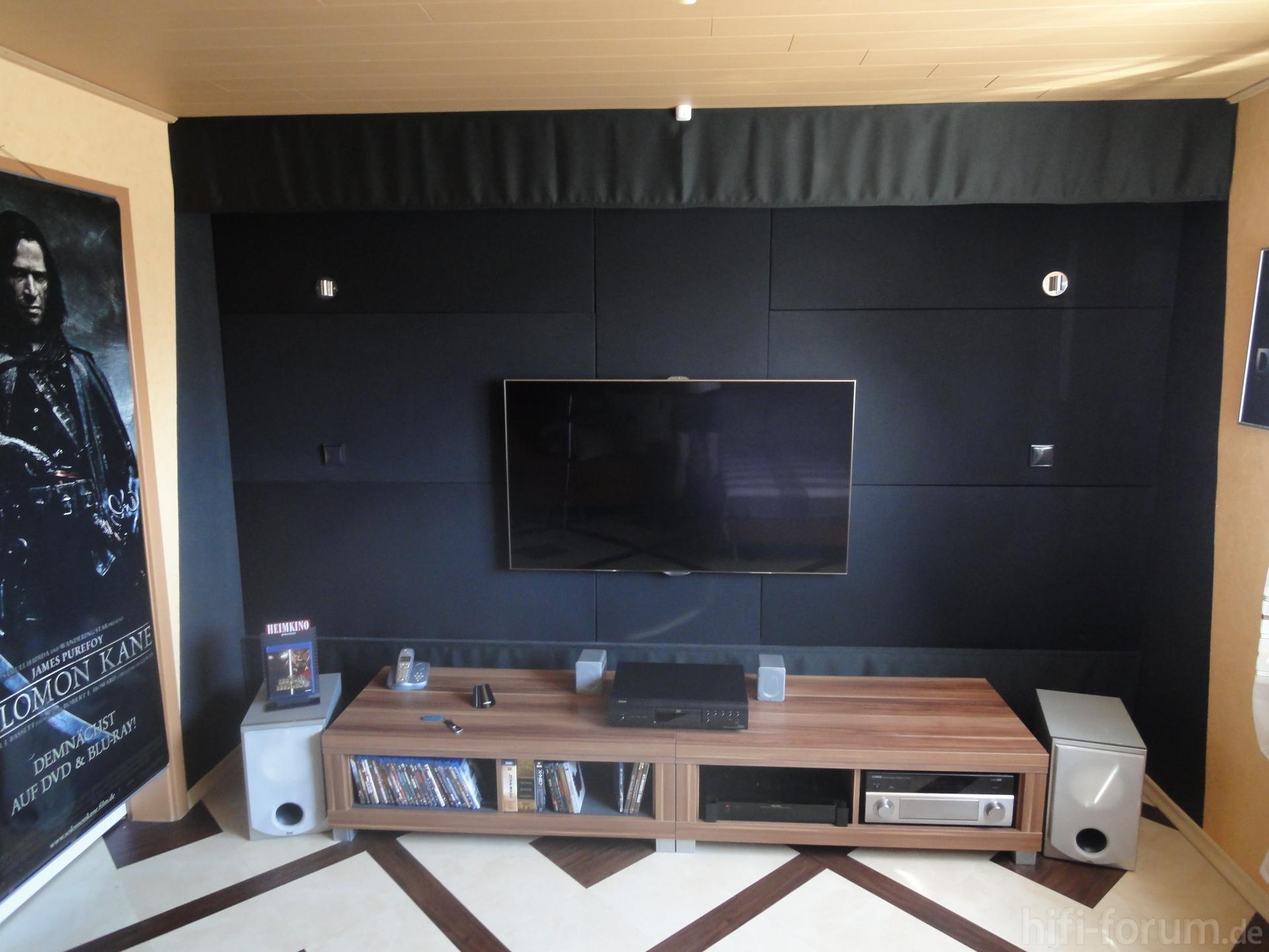 Frontansicht frontansicht hifi bildergalerie - Wohnzimmer fernsehwand ...