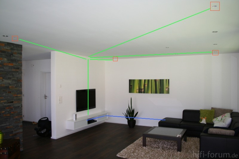 Wohnzimmer Stero System