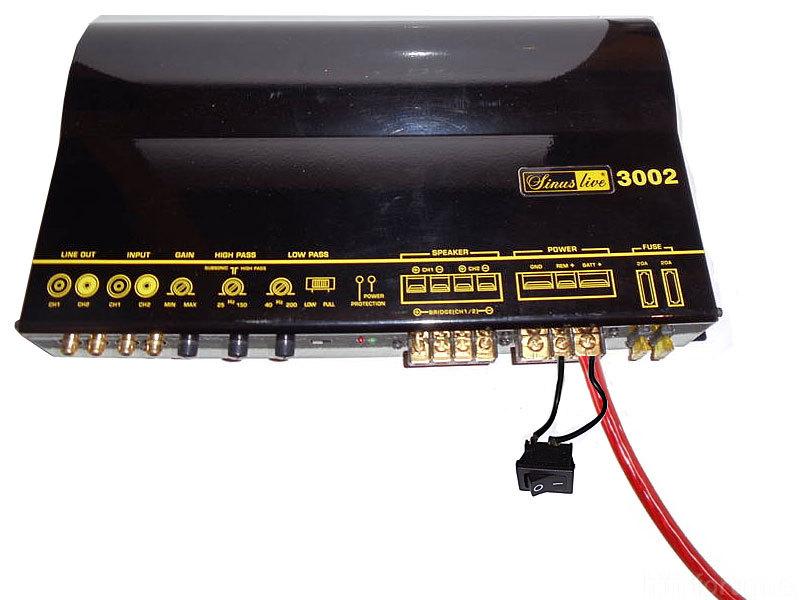 Opa braucht Hilfe: Kein Remotekabel aber trotzdem läuft SUB auf ...