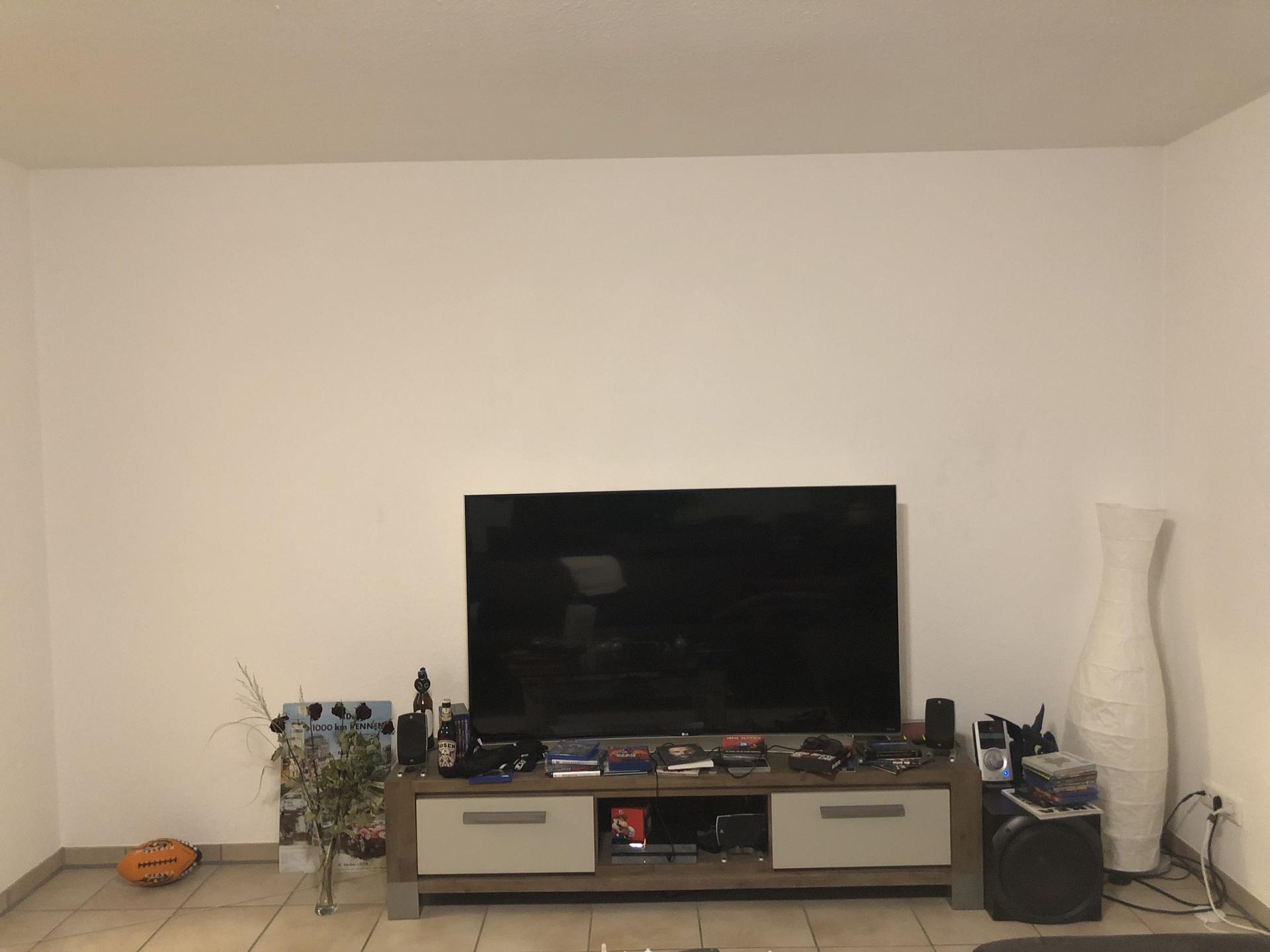 Wohnzimmer TV Wand | heimkino, lautsprecher, surround, tv, wand ...