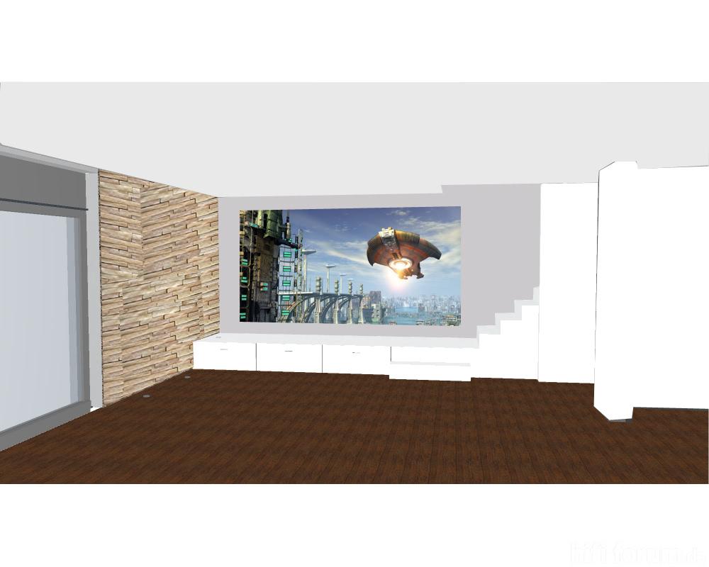 wand als leinwand beamer leinwand tv wand hifi bildergalerie. Black Bedroom Furniture Sets. Home Design Ideas