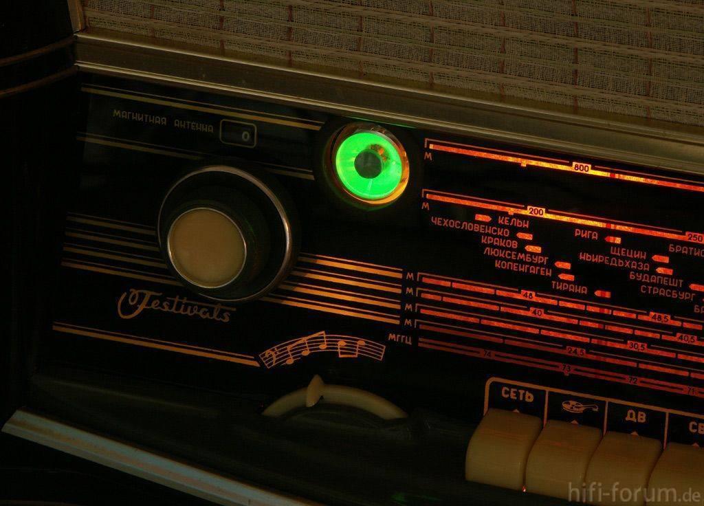 Схема лампового радиоприемника веф.