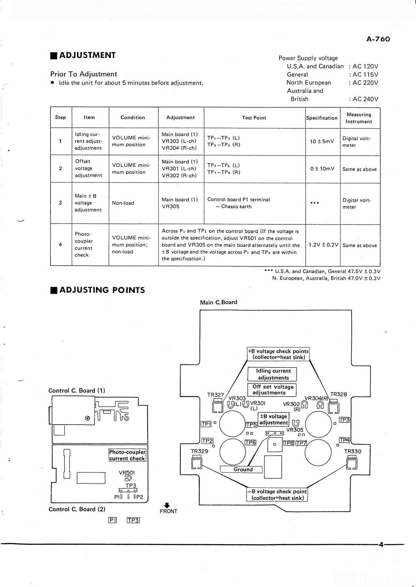 service manual yamaha a 760 ii 760ii manual service yamaha rh hifi forum de 2006 Yamaha G22E Service Manual Yamaha Service Manuals PDF