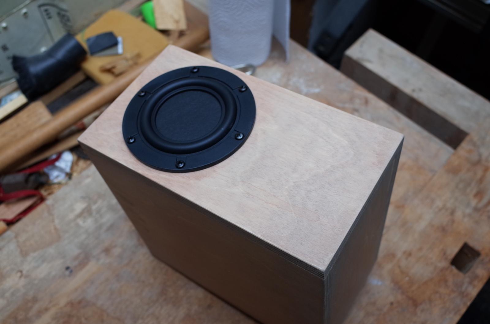 Spectrum Audio Beeper Gehuse Beizen Teil 2 Sound