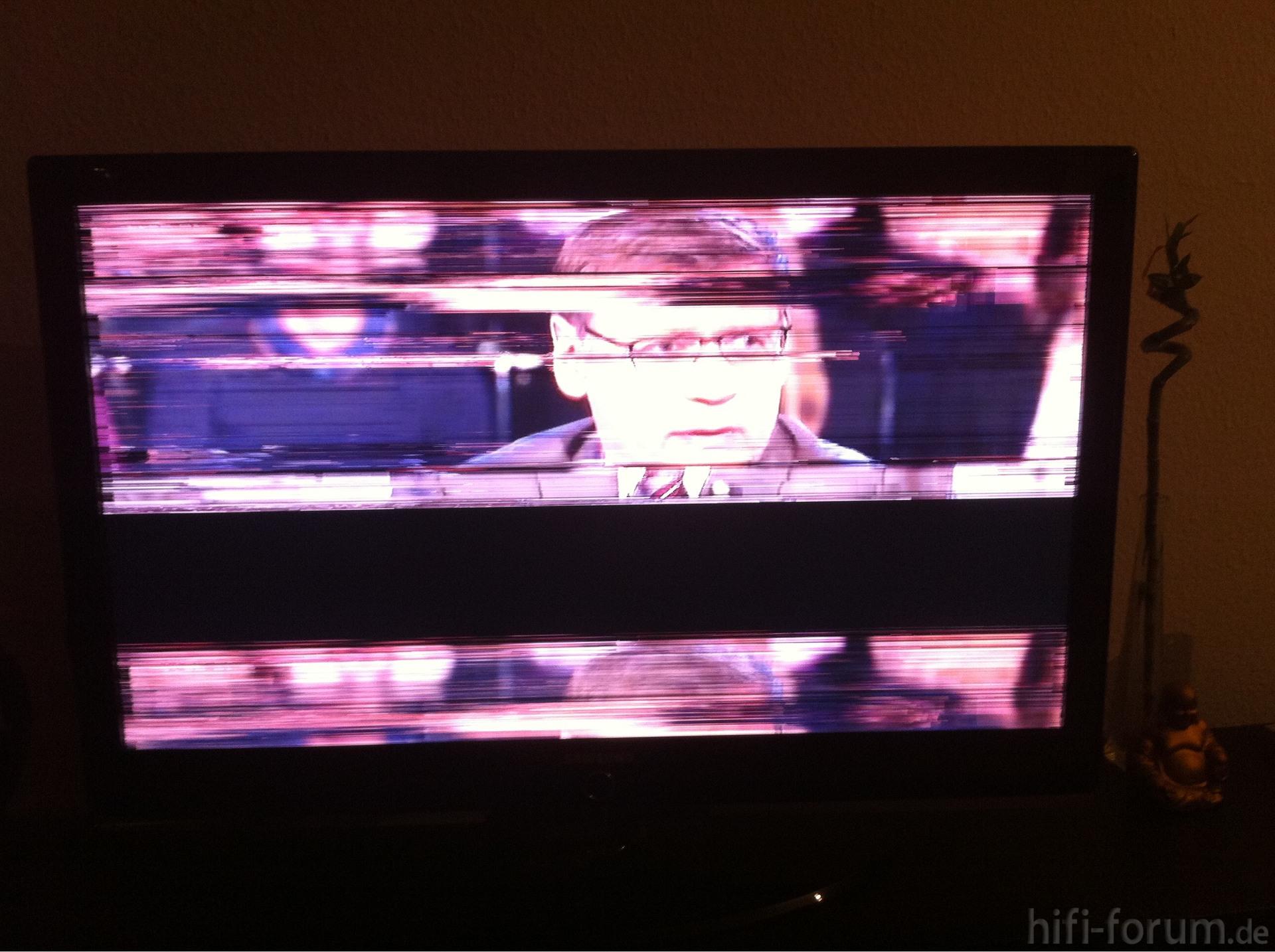 Fernseher Flackert Manchmal