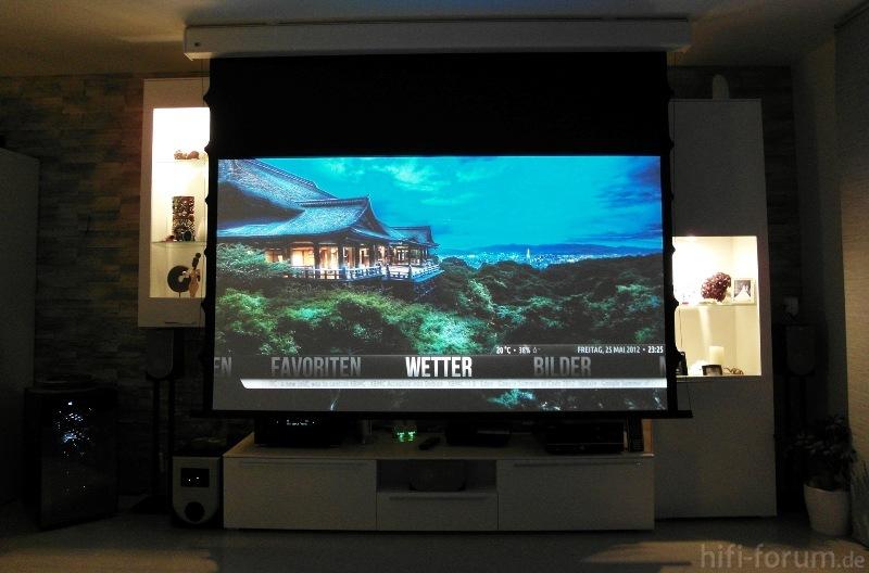 heimkino hd33 beamer hd33 heimkino tv hifi bildergalerie. Black Bedroom Furniture Sets. Home Design Ideas