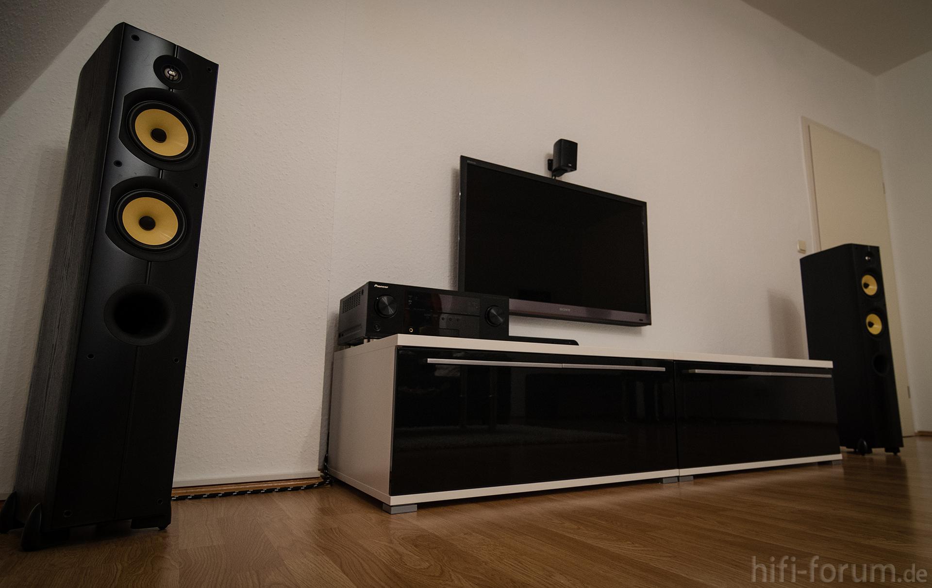 wohnzimmer mit lautsprechern 1 lautsprechern psb t5 wohnzimmer hifi bildergalerie. Black Bedroom Furniture Sets. Home Design Ideas