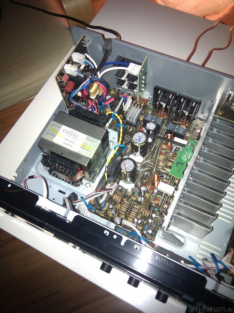 Yamaha Rx V  No Power