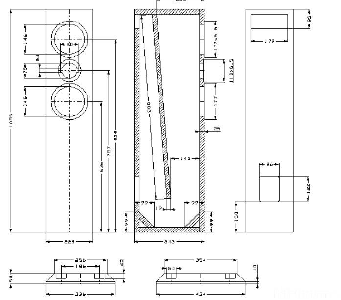 transmissionline berechnen thor transmissionline bauplan. Black Bedroom Furniture Sets. Home Design Ideas