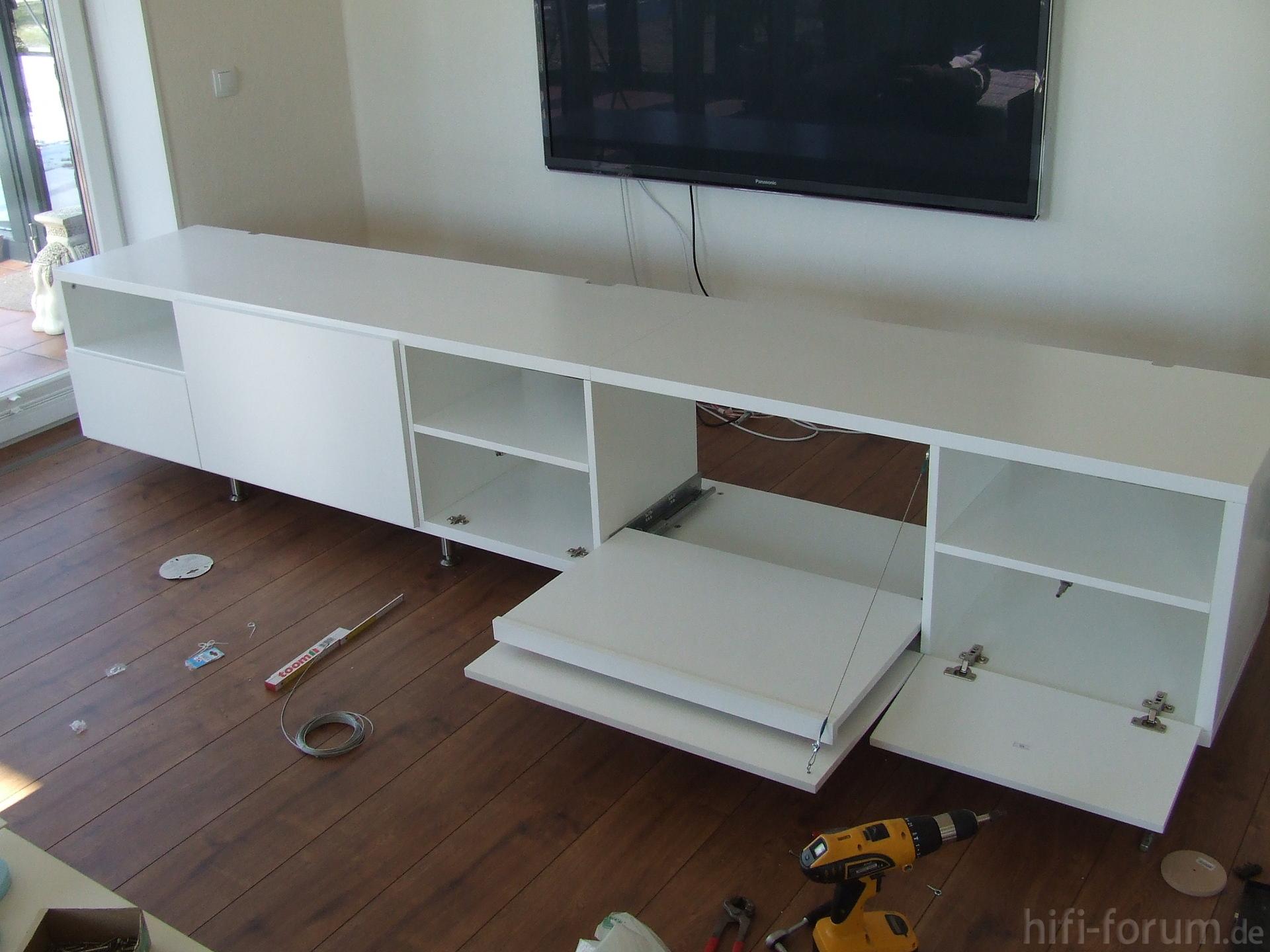 lowboard nach dem aufbau aufbau lowboard lowboardmassivkonzept hifi bildergalerie. Black Bedroom Furniture Sets. Home Design Ideas