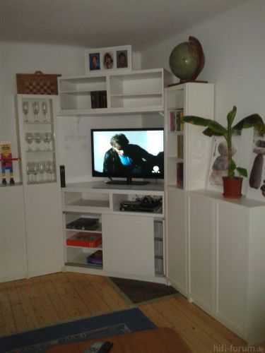 Eckwohnwand wohnwand hififorumde bildergalerie wohnwand for Eck wohnwand modern