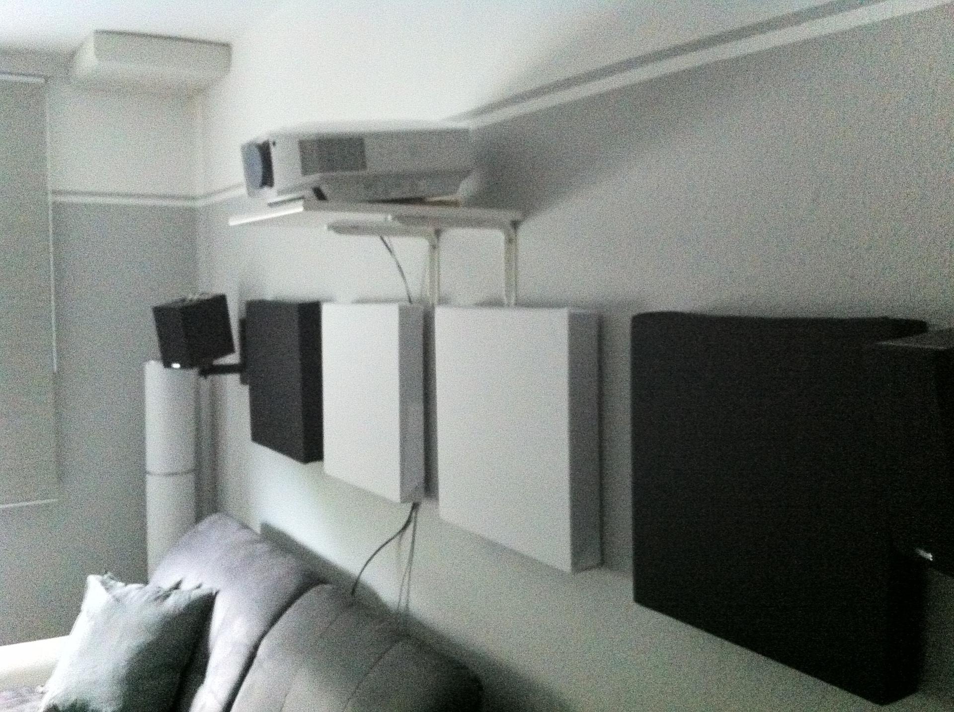 Sony Vpl Hw40 Projektorhalterung Montage Bildgröße Projektoren