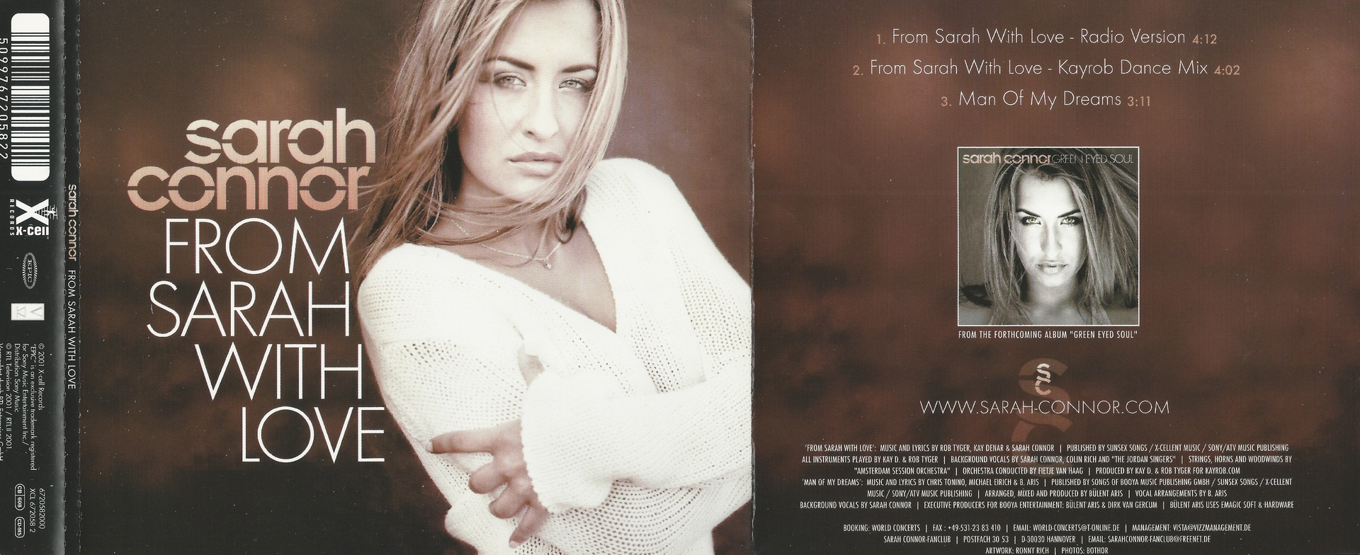 sarah connor from sarah with love bachata From sarah with love this song is by sarah connor and appears on the album green eyed soul (2001).