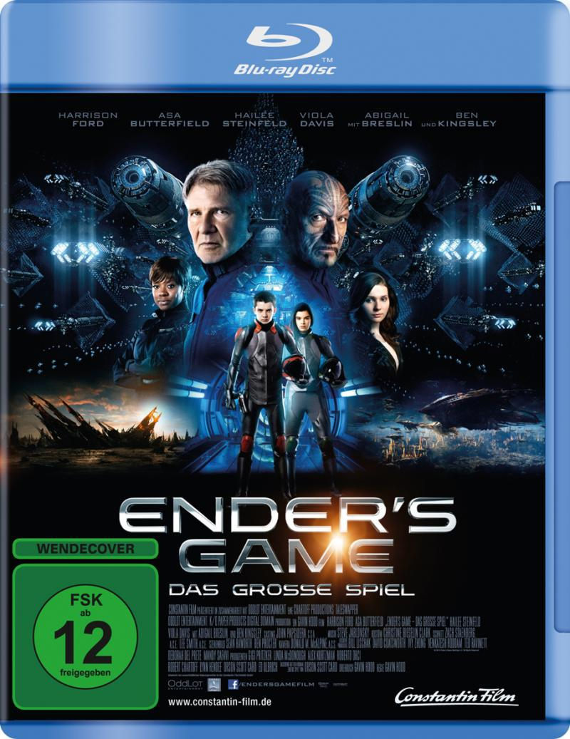 Enders Game Blu Ray Cover | | hifi-forum.de Bildergalerie