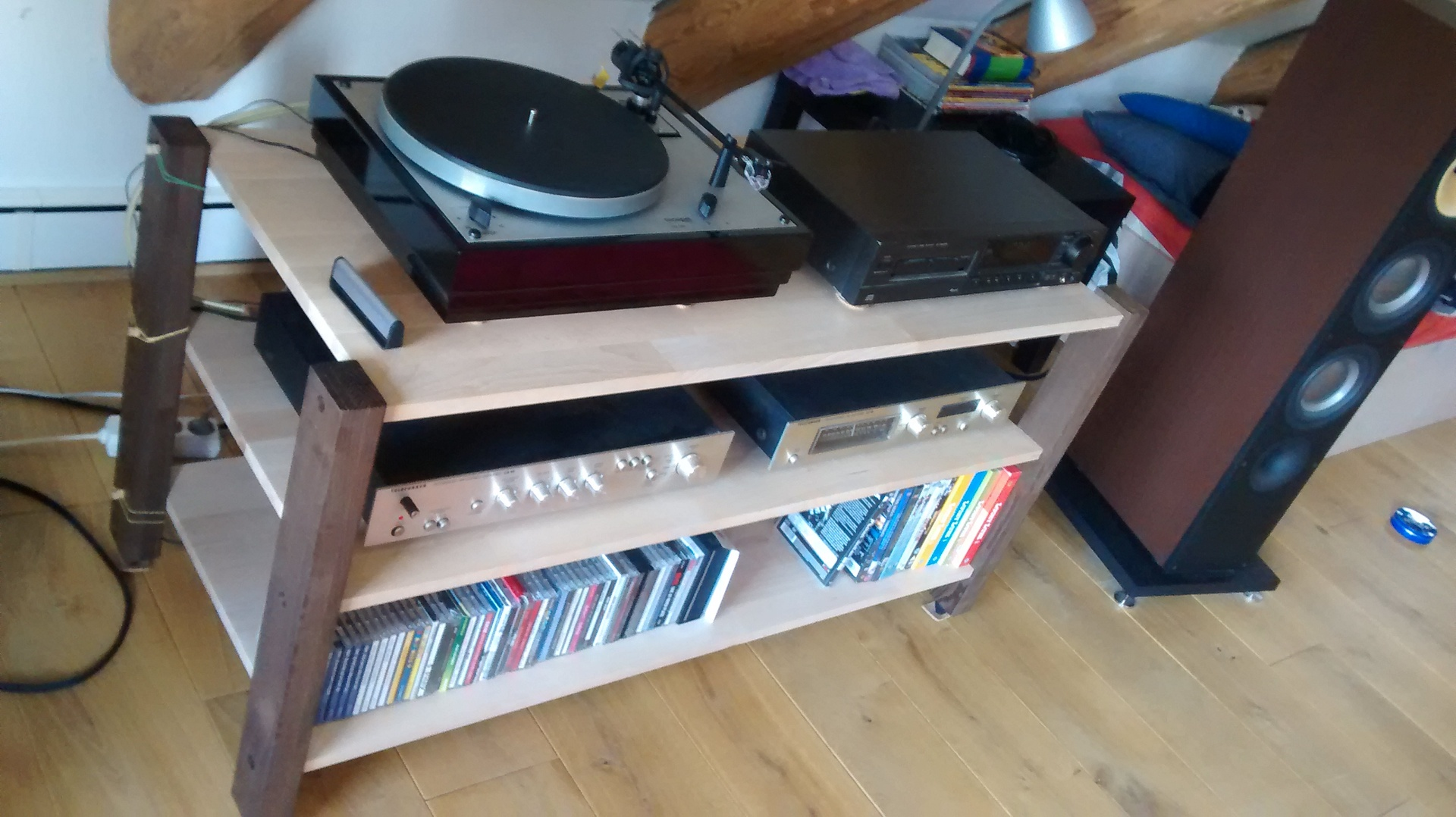 selbstbau rack iii diy iii lowboard notrebo rack. Black Bedroom Furniture Sets. Home Design Ideas