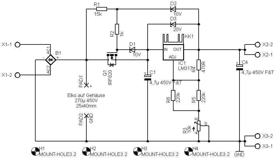 schaltplan lm317