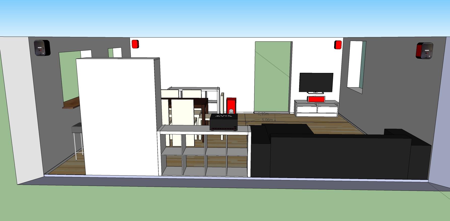 wohnzimmer mit 5 1 anlage ansicht von kellerseite anlage ansicht wohnzimmer hifi forum. Black Bedroom Furniture Sets. Home Design Ideas