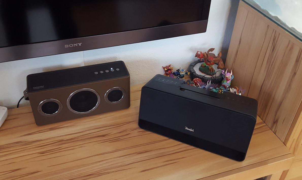 vergleich teufel boomster und ggmm m4 boomster ggmm ipod m4 mobileshifi stereo teufel. Black Bedroom Furniture Sets. Home Design Ideas