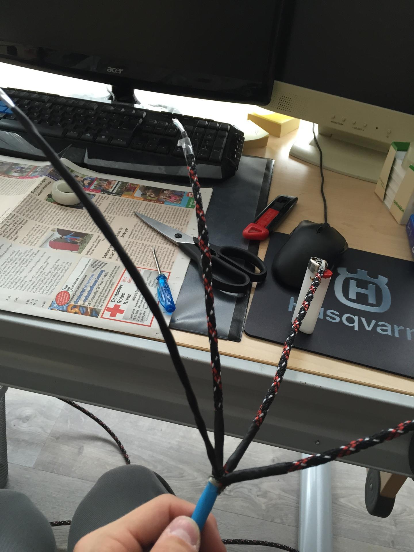 Berühmt Lautsprecherkabel Mit Cinch Kabel Bilder - Schaltplan Serie ...