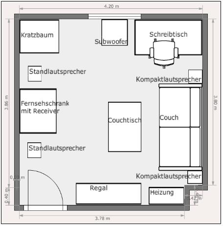 Wohnzimmer Nach Umstellung