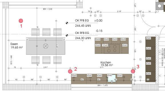 Anordnung Lautsprecher in Betondecke | anordnung, deckenlautsprecher ...