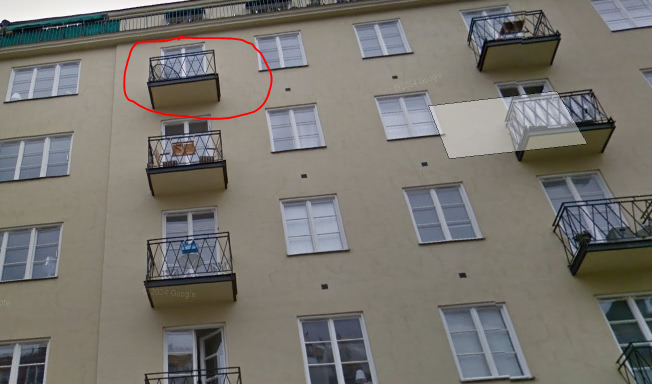 balkon au enansicht hifi bildergalerie. Black Bedroom Furniture Sets. Home Design Ideas