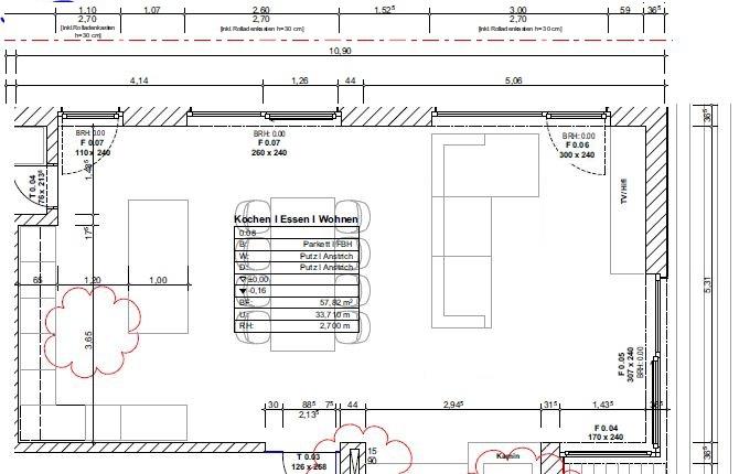 wohnzimmer grundriss mit maßen | grundriss, maßen, wohnzimmer, Wohnzimmer