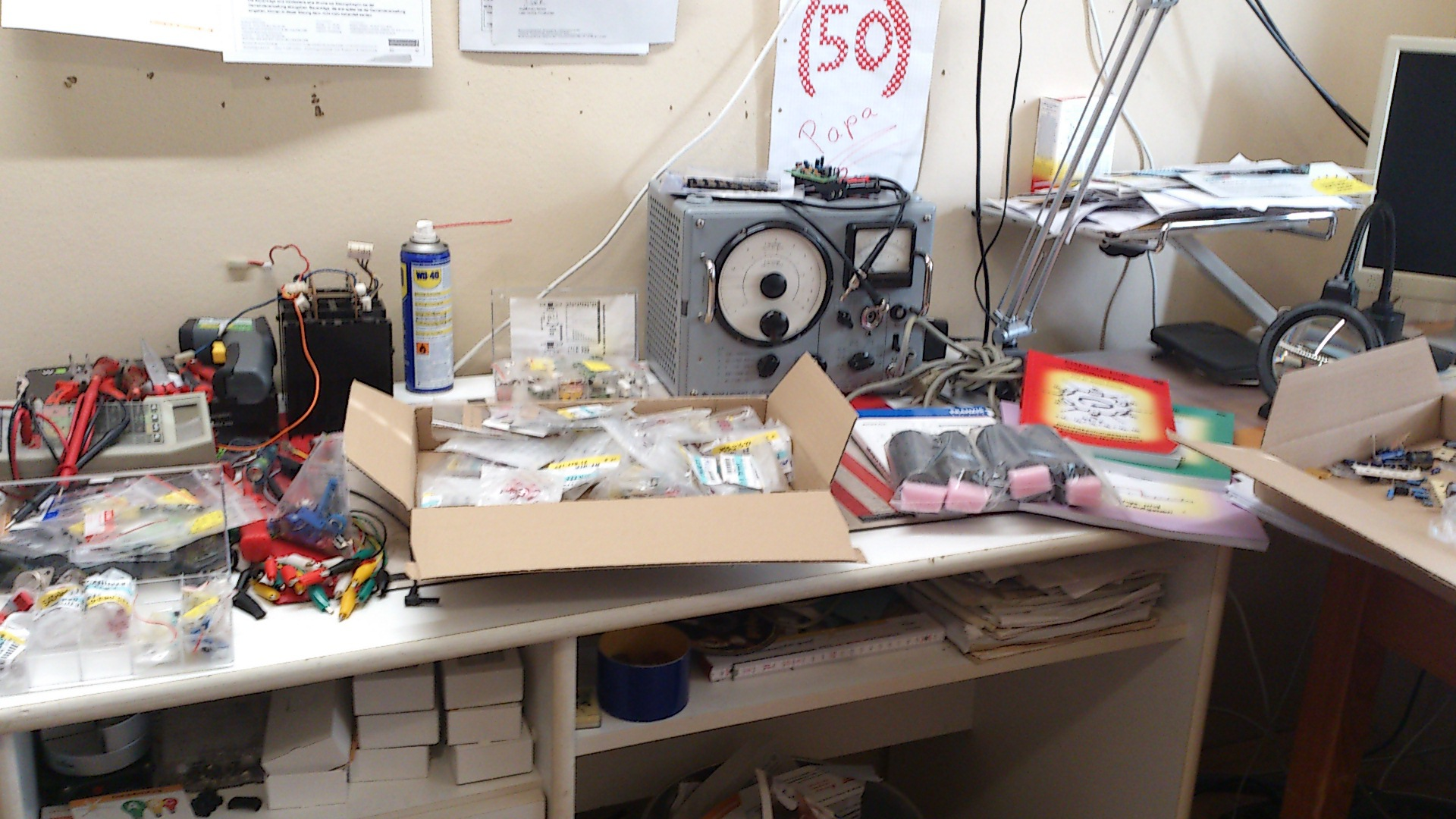 Schreibtisch chaos for Schreibtisch chaos