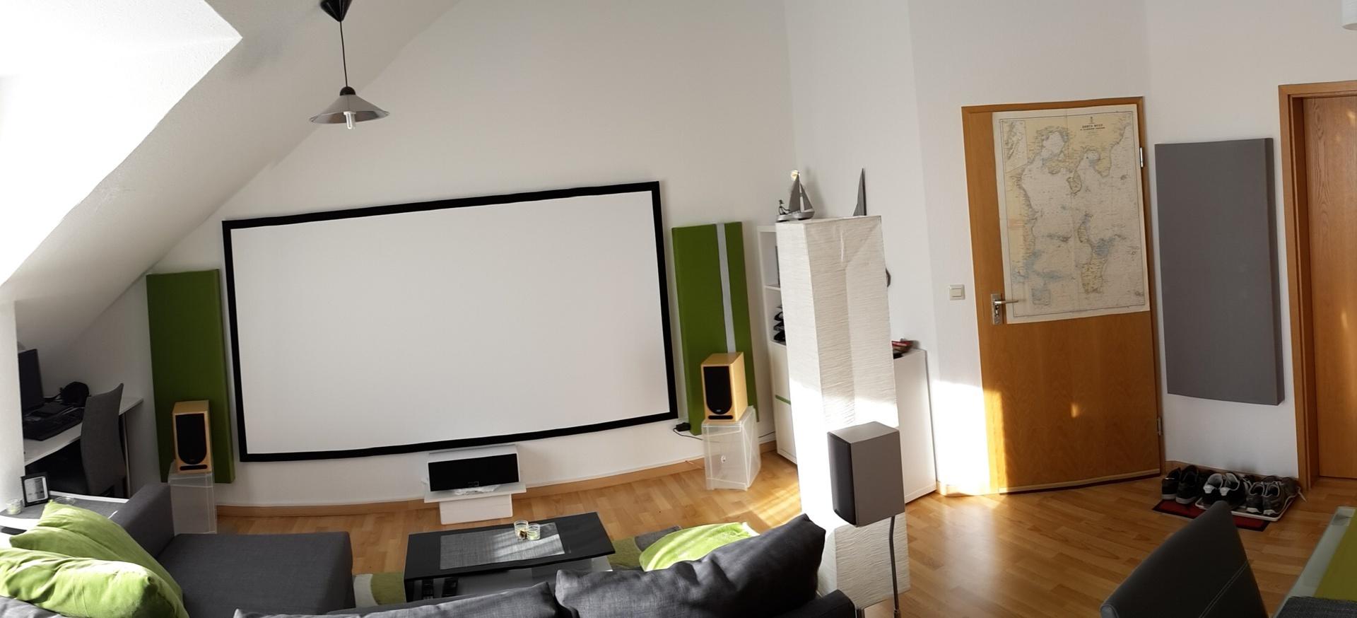 Wohnzimmer Akustik