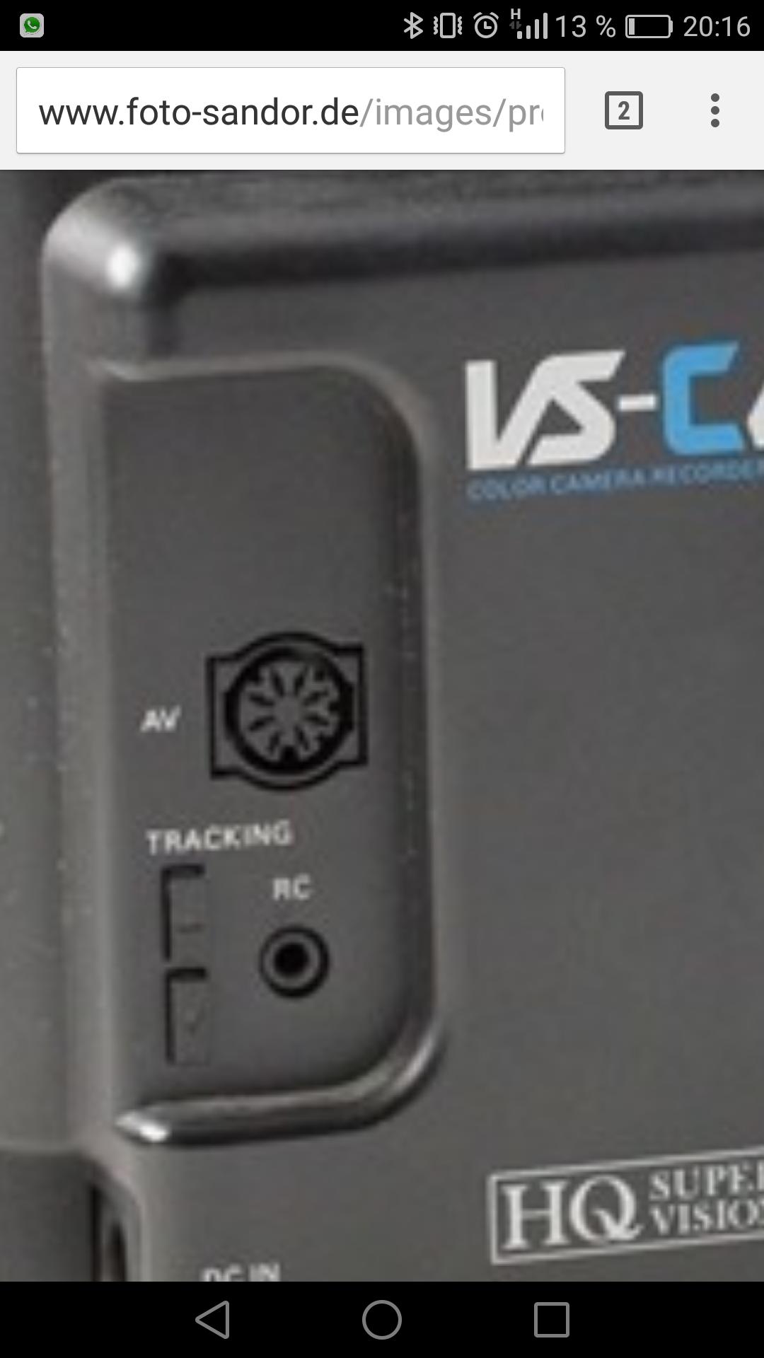 Av Anschluss Grundig VS C40 | anschluss, av, grundig, hifiklassiker ...