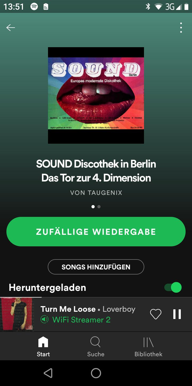 Sound berlin discothek Berlin Startup