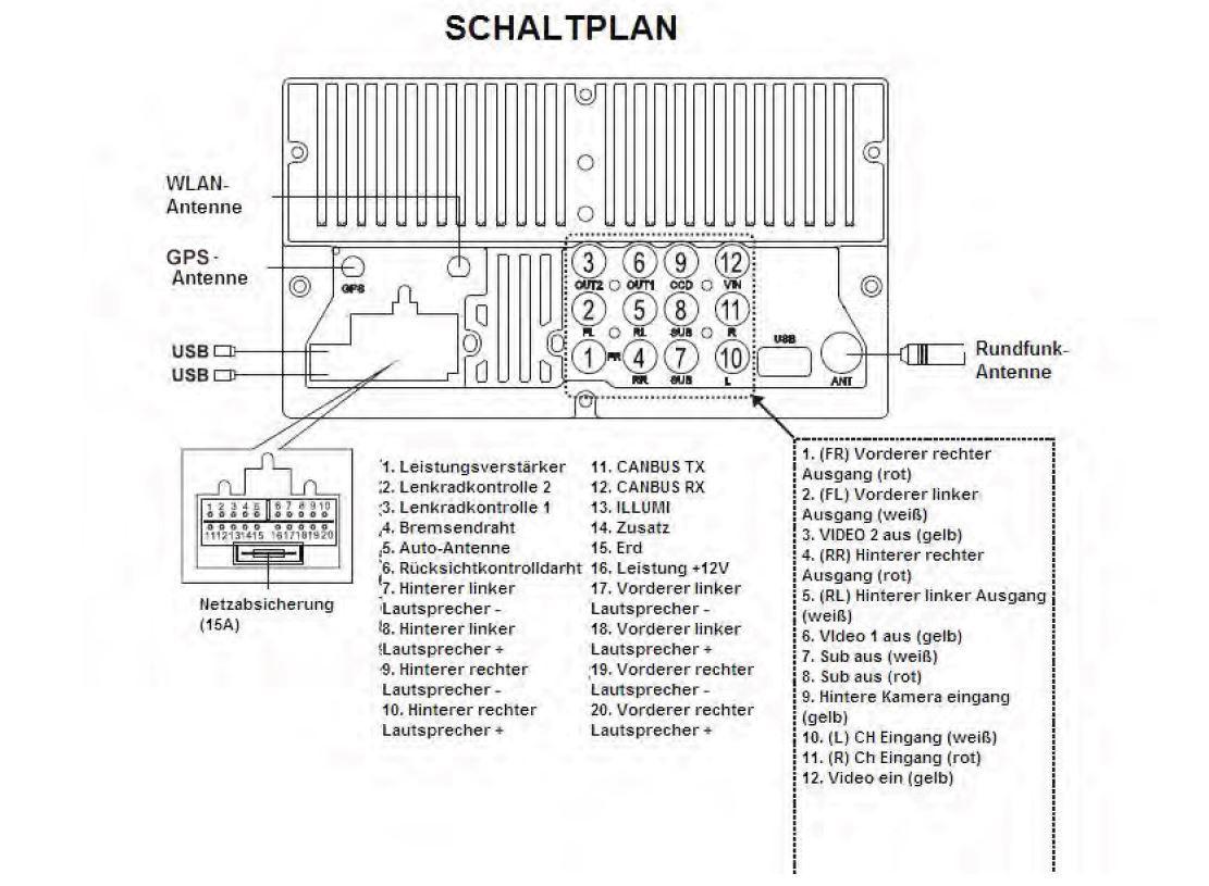 Schaltplan Opel02 | anschluss, verkabelung | hifi-forum.de Bildergalerie