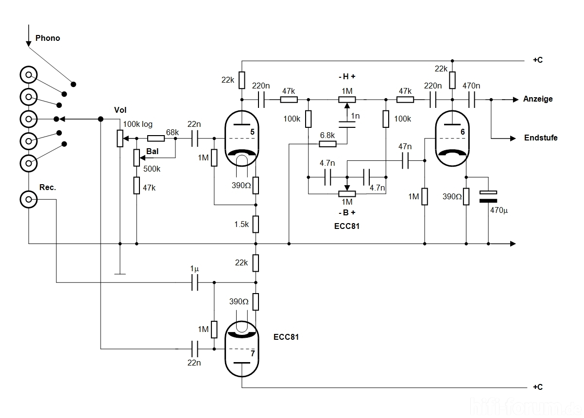 Röhrenverstärker, wie fang ich an., Elektronik-Selbstbauprojekte ...