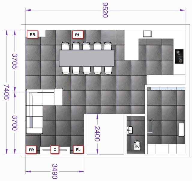 Wohnzimmer Layout