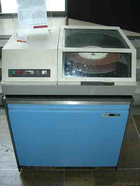 Festplatte IBM 2311 Aus 1965