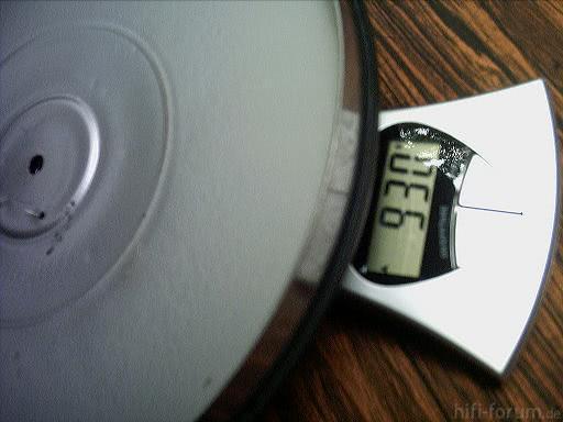 Philips 308 Plattenteller Gewicht