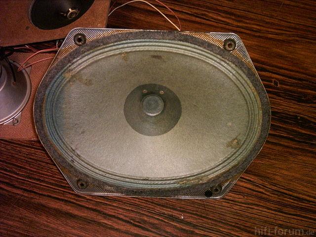 Saba Villingen 11 Blaumembran Lautsprecher