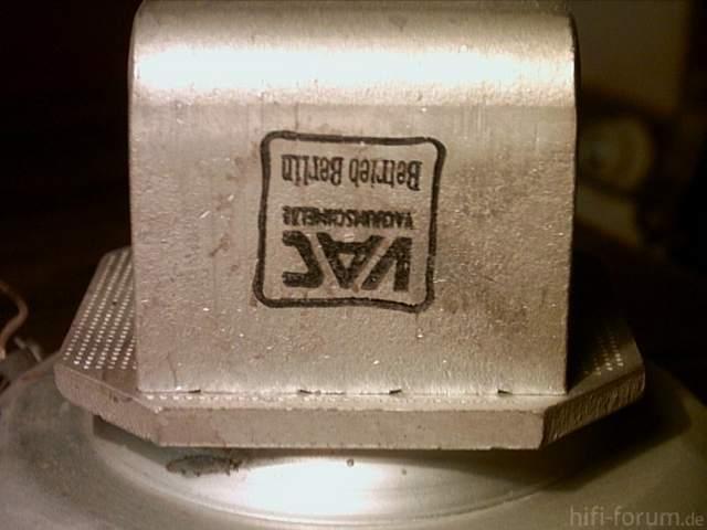 Siemens Schatulle M47 Lautsprecher Stempel VAC Berlin