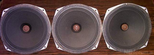 Siemens Schatulle M47 Lautsprecher von Vorn