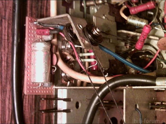 Siemens Schatulle M47 Phono Vorglueher eingebaut