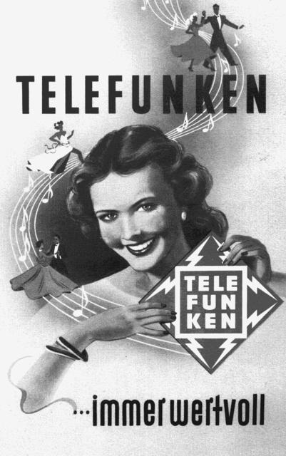Telefunken   Immer Wertvoll   1956