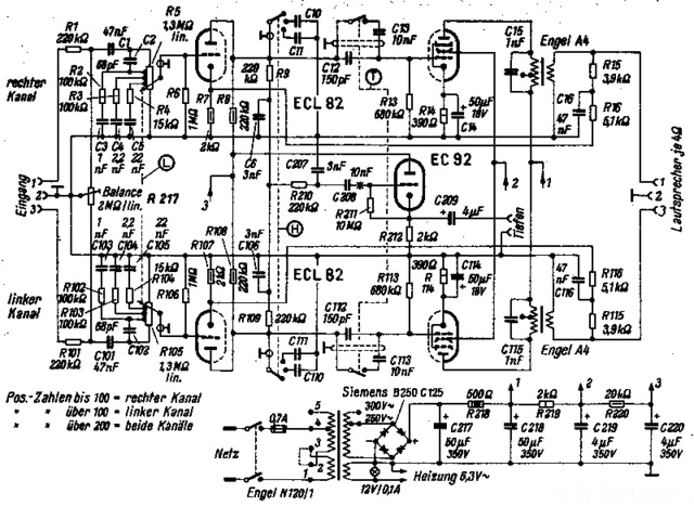 Telefunken S 81 Schaltplan Funkschau STV 1