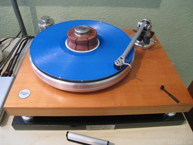 Acoustic Solid Classic Wood Mit Rega RB 600