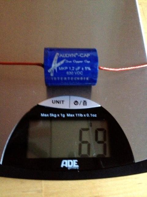Gewicht Adyn Copper Cap 1,2µF