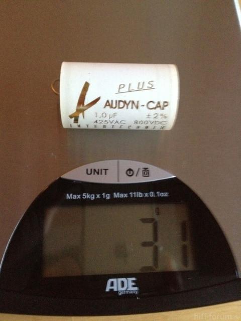 Gewicht Adyn Plus Cap 1,0 µF
