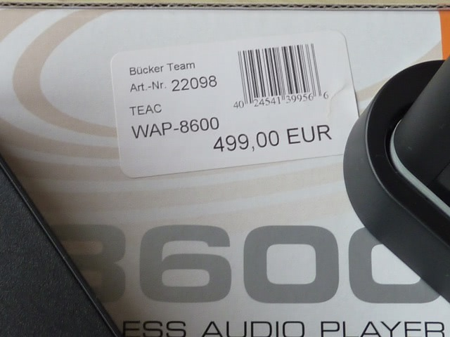 TEAC WAP 8600